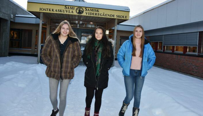 På denne skolen lærer de yrkesfag og samisk: – Sykt vanskelig