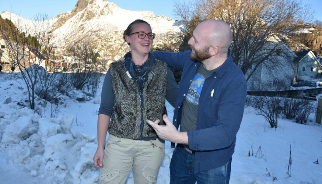 Ane Mjelva og Henning Tveito mener det er viktig å være profesjonelle i lærergjerningen. Foto: Wenche Schjønberg