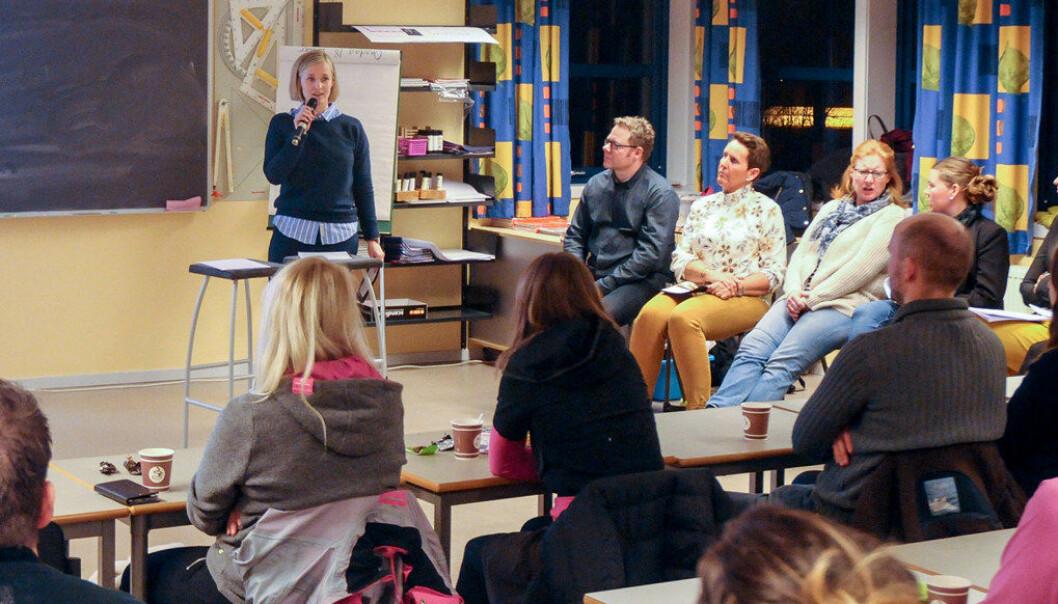 Foreldremøtene i Smedhusåsen barnehage i Østfold har vært en suksess og ført til tettere foreldresamarbeid og økt yrkesstolthet blant de ansatte. Foto: Smedhusåsen barnehage