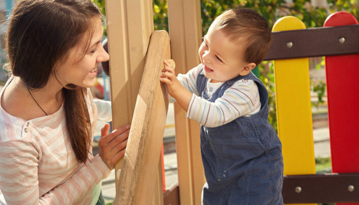 Relasjoner: Smil og barnet smiler tilbake til deg