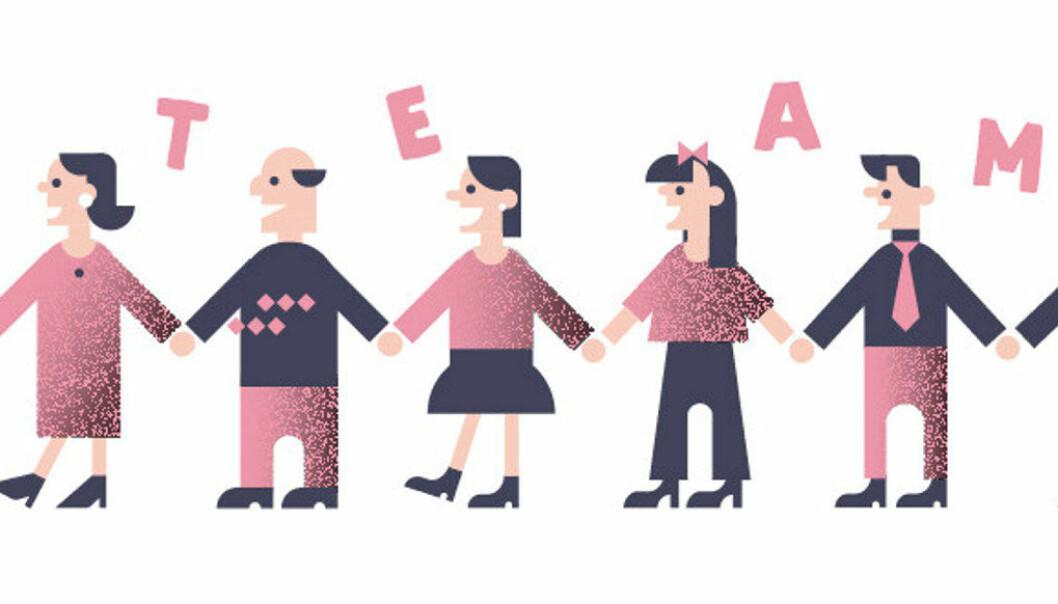 Når man skal lede et team bør man kjenne alle individene så godt at man vet hvordan man skal få dem til å trekke i riktig retning, skriver artikkelforfatteren. Illustrasjon: Mari Pünther