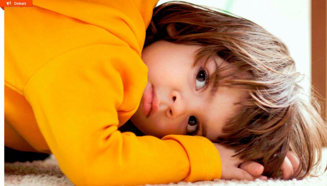 I løpet av ein barnehagedag gir 54 % av barnehagetilsette mest merksemd til dei utagerande og urolege barna, mens 4 % av personalet gir dei stille barna mest merksemd, viser ny undersøking.  Foto: Thinkstock