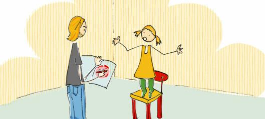 4-åringen Alice irettesatte meg på min sosiale inkompetanse