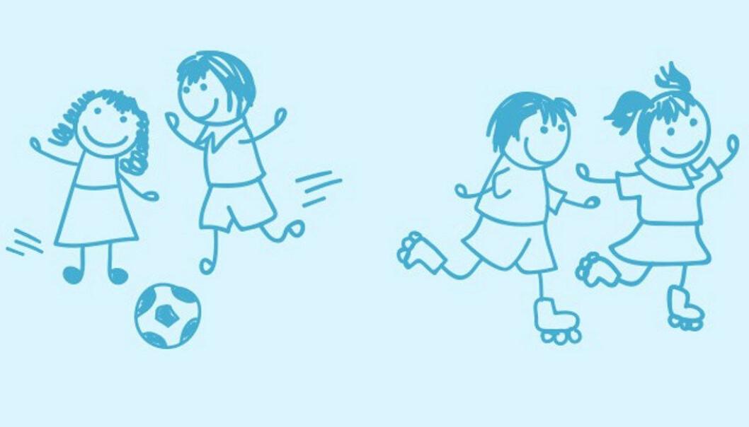 For at barn skal fungere i hverdagen, utvikle seg og trives, har de behov for grunnleggende tillit og positiv selvoppfatning, skriver artikkelforfatteren. Illustrasjon: Mari Pünther, Tank Design
