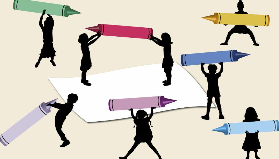 Kvaliteten i barnehagene i Kristiansand har blitt bedre etter at de ansatte sammen har fått felles kompetanse, analysert egne utfordringer og bedret sin praksis, viser ny studie.  Illustrasjonsfoto: Fotolia.com