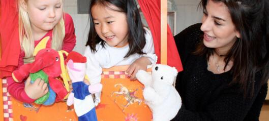 Når de barnehageansatte trener på å takle egne følelser, får de bedre relasjoner til barna