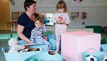 Nye lekemiljø skal hindre psykiske plager hos barna