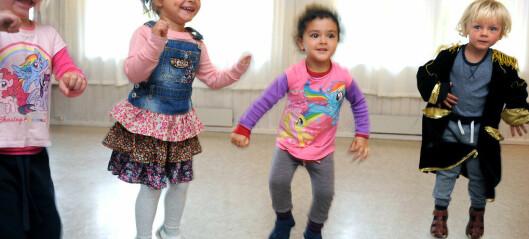 Barna blir gode konfliktløsere gjennom dansen