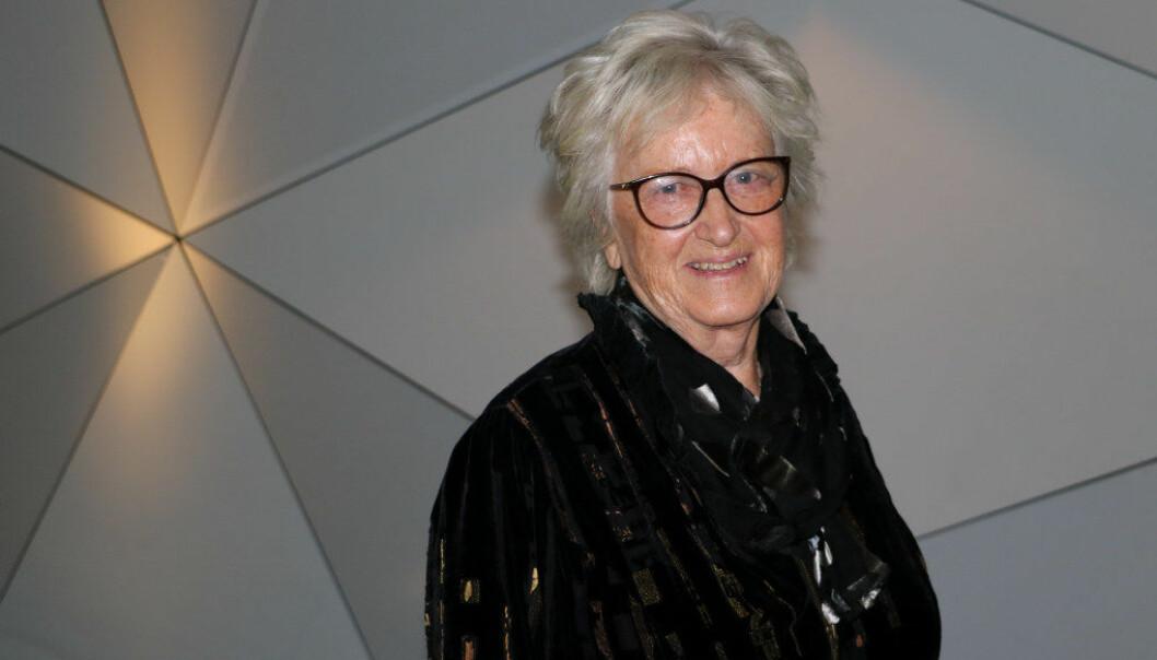 Professor emerita Berit Bae ved Oslo Met. Foto: Line Fredheim Storvik