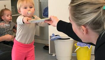 Nå følger barnehagelærerne barnet fremfor klokken