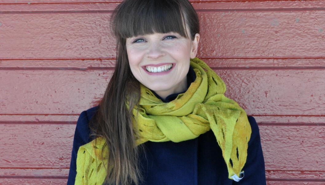 Da sanger og skuespiller Lisa Stokke gikk i barnepark frøs hun og de andre barna noen ganger så mye at de latet som de måtte på do for å komme inn i varmen i noen minutter. Foto: Kjersti Salvesen