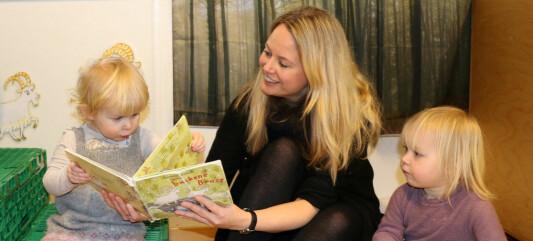 I Ilebrekke barnehage leser de ansatte oftere enn før og på en helt ny måte