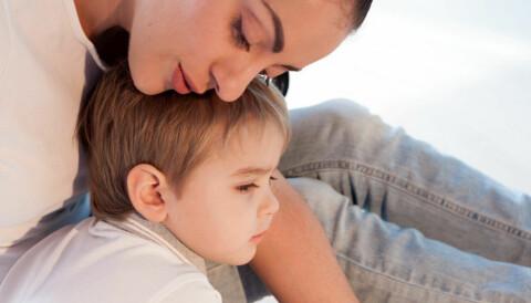 400c1273 Er du sensitiv og toner deg inn på barnets følelser, slik at det opplever å