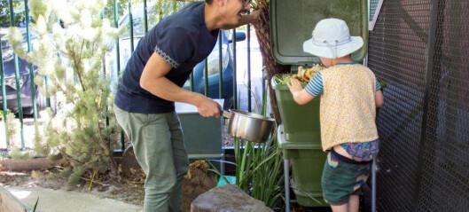 Lærer barna miljøvern med egen markfarm