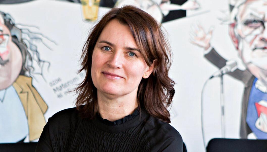 Mormoren til Hege Valås i Utdanningsforbundet mente hun hadde et for klokt hode til å bli førskolelærer, så det ble Hege. Foto: Charlotte E. Wiig