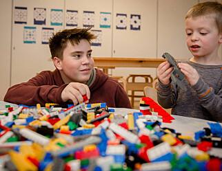 Ungdomsskolegutter som lekeressurs i barnehagen er en suksess