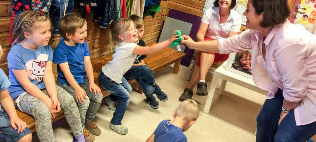 En helt spesiell metode lærer barna å fokusere på det som er bra