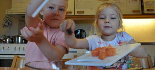 – Det er god læring å få prøve seg som kokk i barnehagen