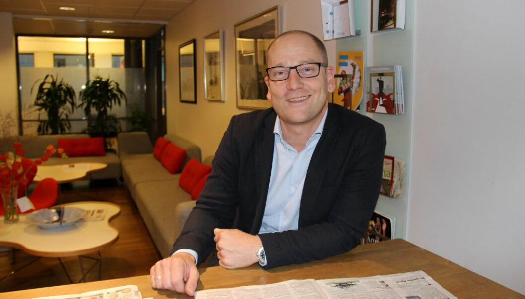 Leder i Utdanningsforbundet, Steffen Handal, mener det er viktig at barnehagesektoren, tillitsvalgte og medlemmer i forbundet bruker høringsperioden til å komme med konstruktive innspill til den nye rammeplanen. Foto: Line Fredheim Storvik