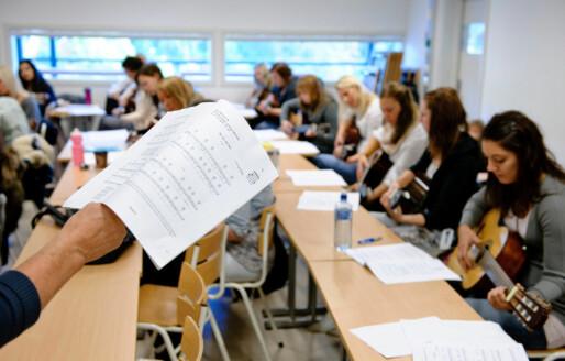 6 av 10 lærerstudenter er helt sikre på at de vil jobbe som lærere
