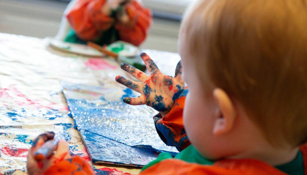 Regjeringen jobber med å utarbeide et nytt regelverk for finansiering av private barnehager. Illustrasjonsfoto: Eva Groven.