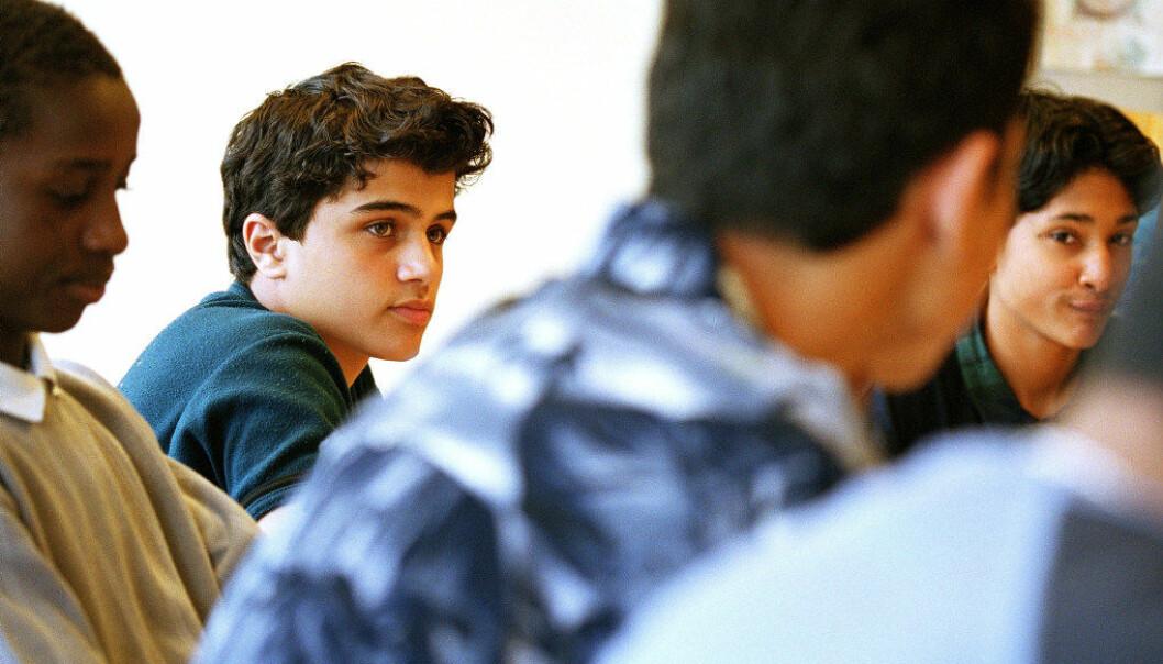 Innvandrerungdom velger mindre kjønnstradisjonelt når de velger utdanning, sier ny rapport. Illustrasjonfoto: Bo Mathisen