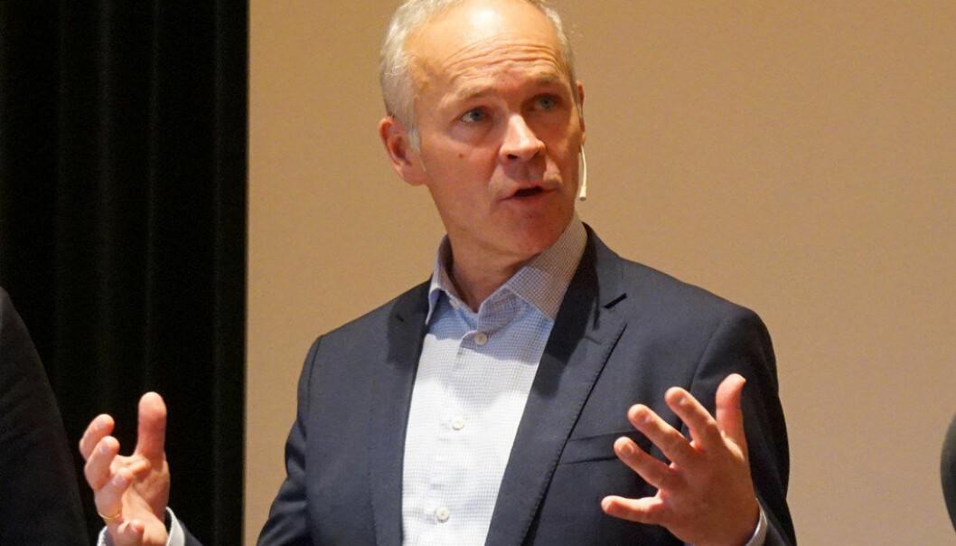 – Jeg kan forsikre representanten om at regjeringen tar problemer med vold i skolen på stort alvor, skriver Jan Tore Sanner, som legger til at problemet ikke løses med et enkelt tiltak. Arkivfoto: Utdanning