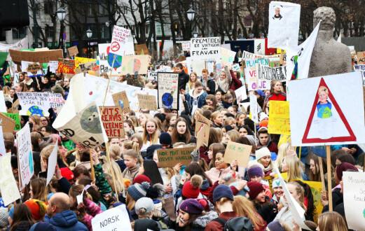 Medlemsvekst i Grønn Ungdom etter klimaaksjon