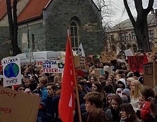 Klimatoget i Trondheim ble overraskende langt
