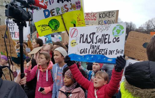 Streikebilder fra Longyearbyen til Flekkefjord
