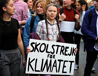 Venter 20.000 streikende elever til klimaprotest i dag
