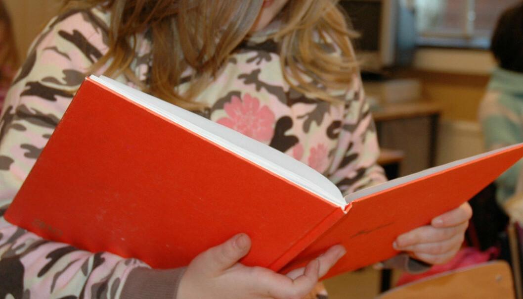 Konklusjonen i ein masteroppgåve er at barnehagane ikkje førebudde barna på skriftspråket dei ville møte i skolen. Arkivfoto: Utdanning