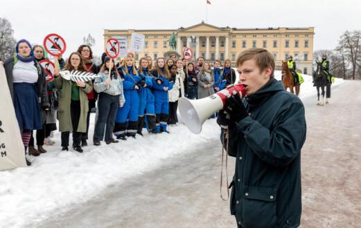 12.000 elever sier de skal streike for klimaet på fredag