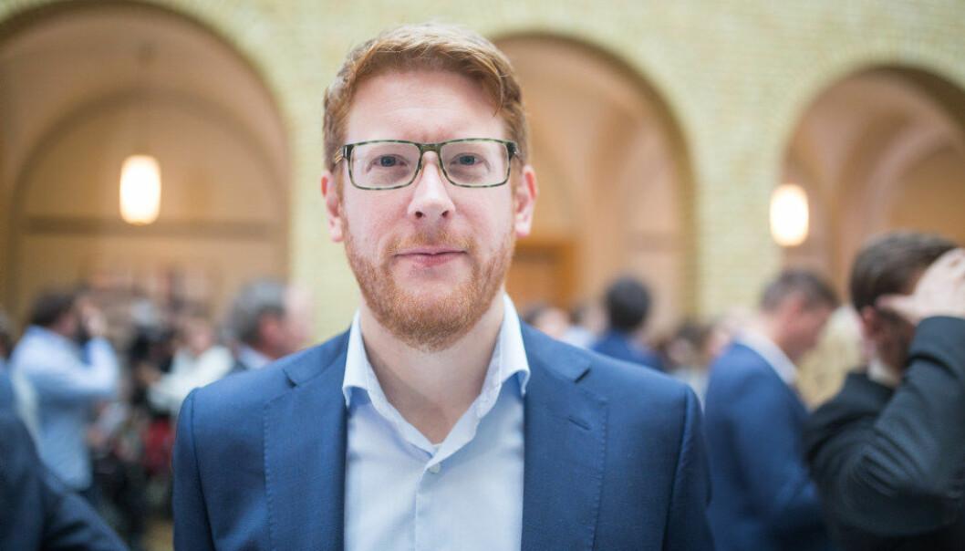 – Praktisk og variert læring bør ikke begrenses til kun enkelte fag slik Sanner vil, sier Martin Henriksen i Arbeiderpartiet. Foto: Hans Skjong.
