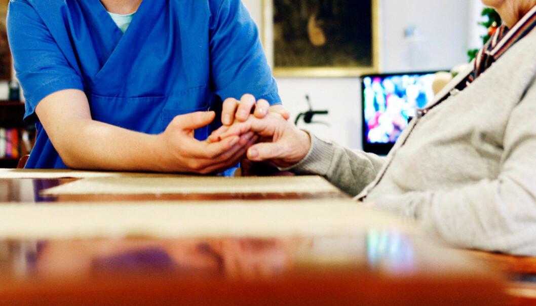 Fra 2009 til 2019 har andelen gutter som søker helse- og oppvekstfag, økt fra 11 til 21 prosent. Ill. foto: Tom-Egil Jensen