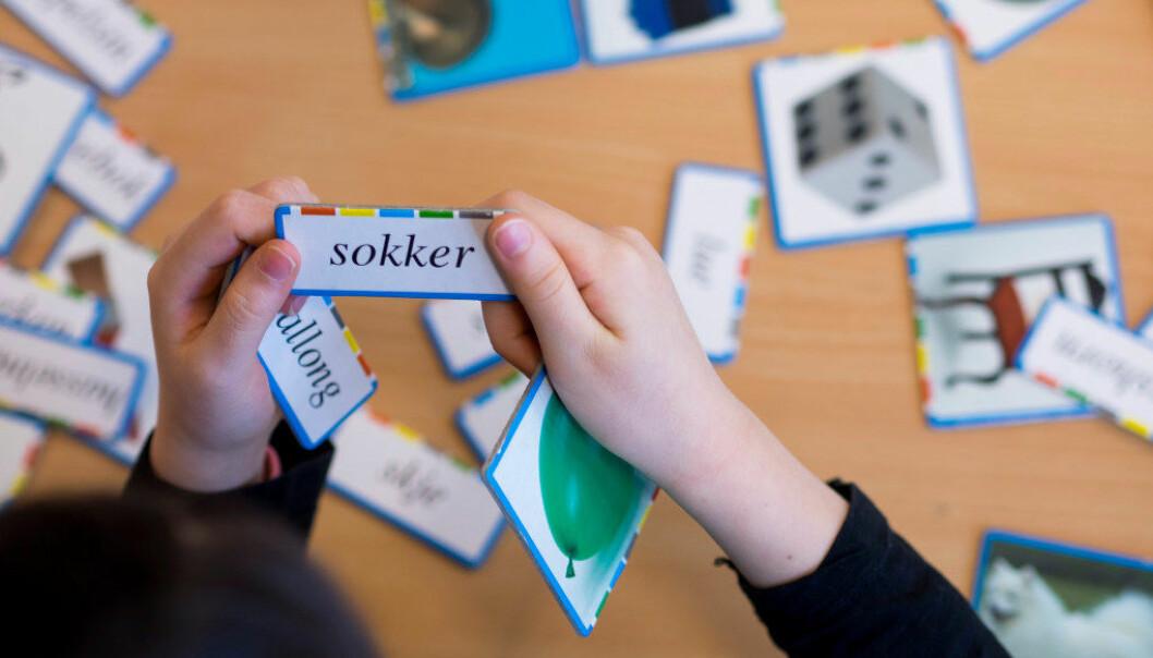 Nå er det tre standpunktkarakterer i norsk. Etter Stoltenberg-utvalget diskuterer politikerne om det bør være færre. Arkivfoto: Utdanning.