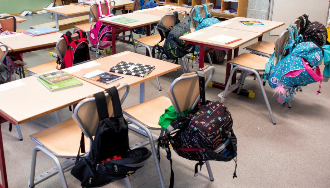 Langt færre elever i Lillehammer-skolen mottar spesialundervisning. Illustrasjonsfoto: Utdanning/Arkivfoto