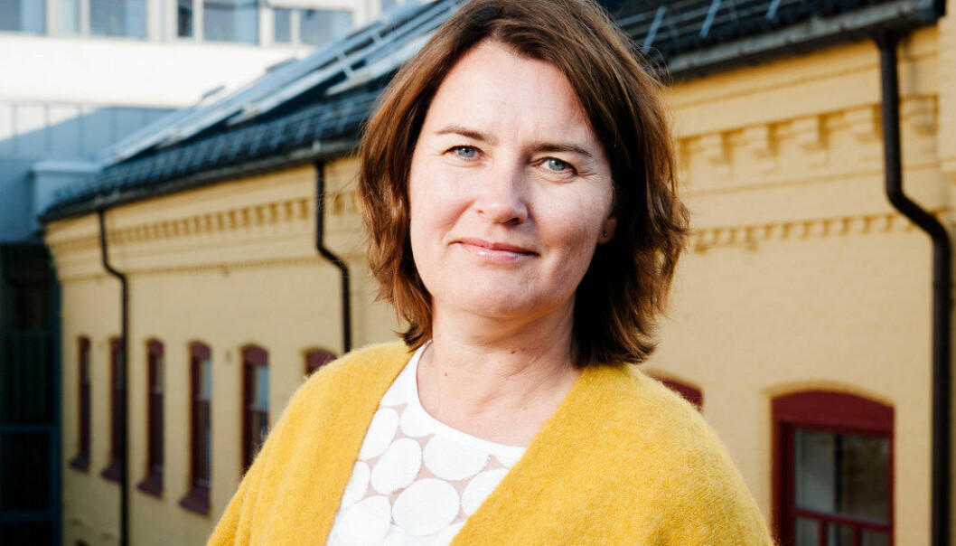 – Andelen som tilsettes med dispensasjon fra kravet om barnehagelærerkompetanse har mer enn doblet seg på et år, sier Hege Valås, nestleder i Utdanningsforbundet. Foto: Tom-Egil Jensen/Utdanningsforbundet.