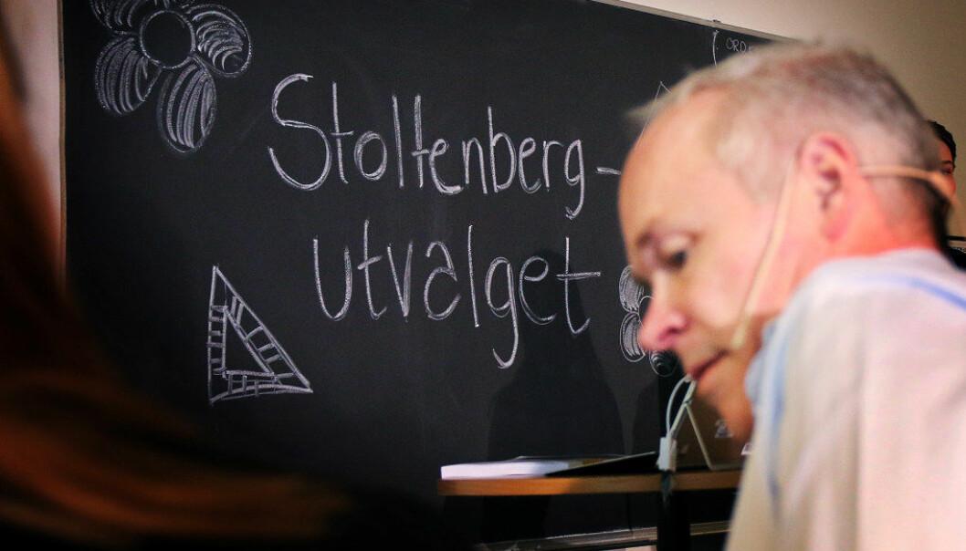 Stoltenberg-utvalget foreslår at kunnskapsminister Jan Tore Sanner gjør mattekarakteren viktigere for opptaket til videregående skole. Det skaper reaksjoner blant forkjempere for praktisk-estetiske fag i skolen. Foto: Jørgen Jelstad.