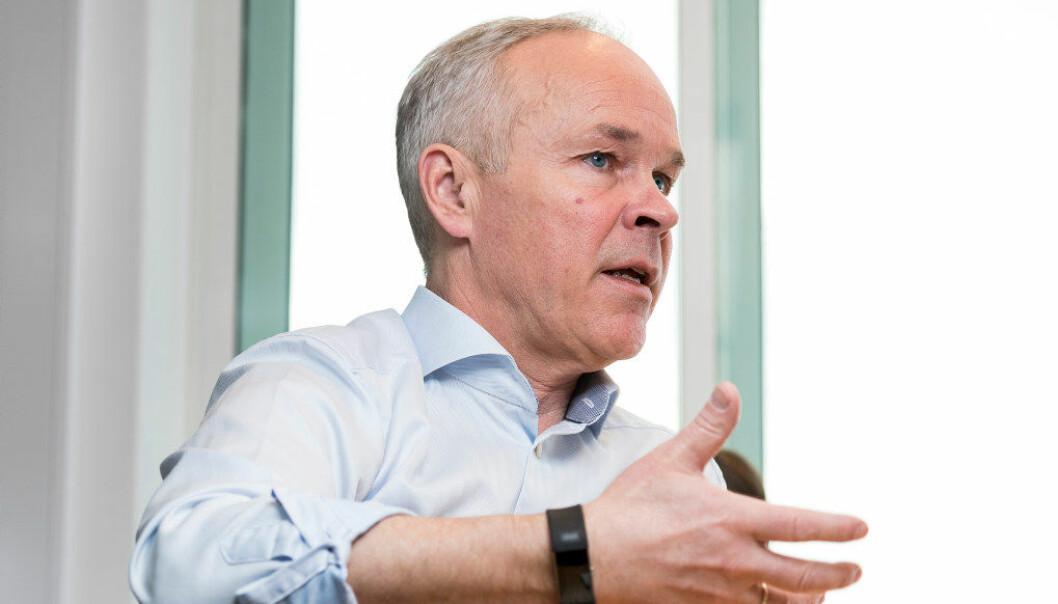 Kunnskapsminister Jan Tore Sanner forutsetter at skoleeierne følger opp de nasjonalt fastsatte kompetansekravene. Arkivfoto: Werner Juvik