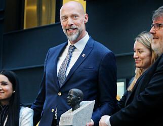 Kuben vgs i Oslo fikk Benjaminprisen