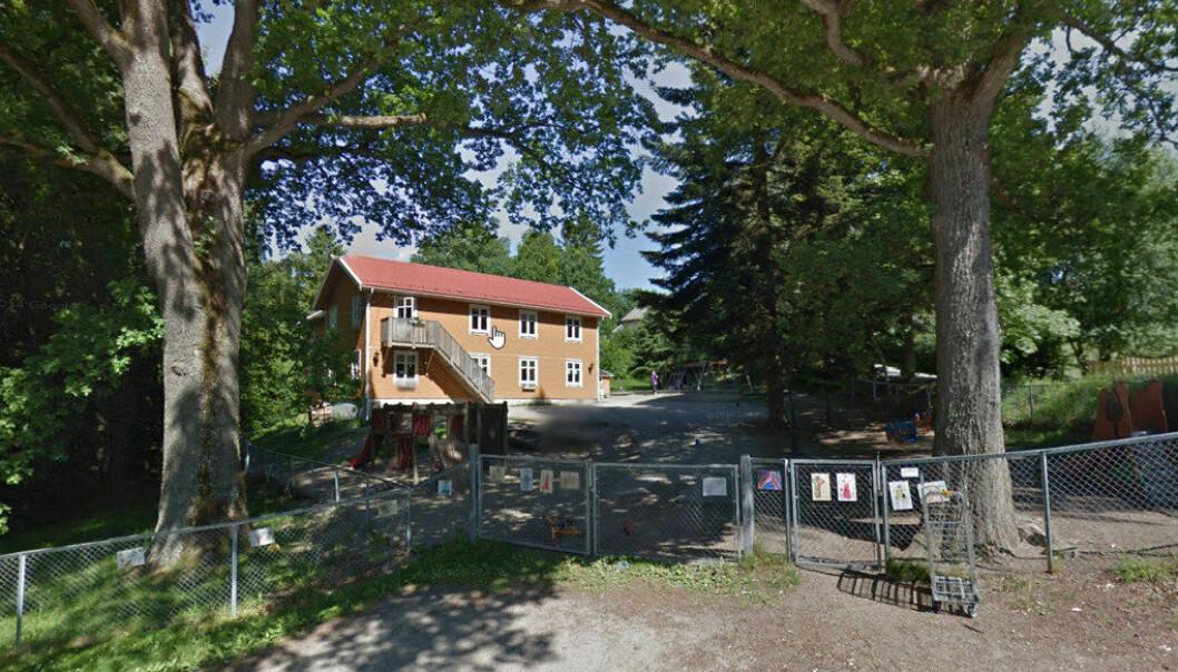 Halden kommune krever at eierne av Klengstua barnehage betaler tilbake 2,8 millioner kroner. Foto: Google