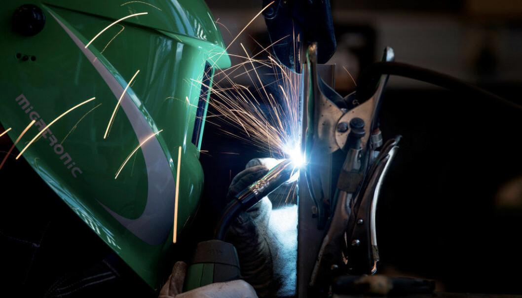 Ordningen med Lektor 2 for yrkesfag går ut på at fagpersoner fra arbeidslivet involveres direkte i opplæringen på yrkesfaglige programmer i videregående skole.  Arkivfoto: Utdanning