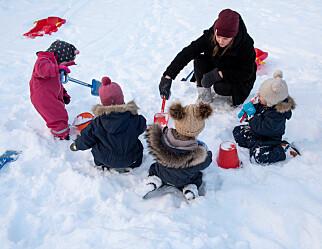 Familiebarnehagene kan få strengere bemanningskrav