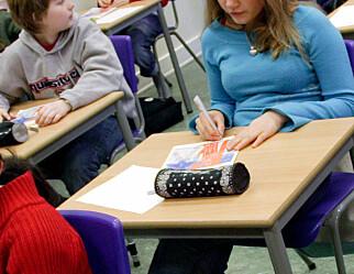 Brudd på reglene: Elever deltar ikke i vurdering av eget arbeid