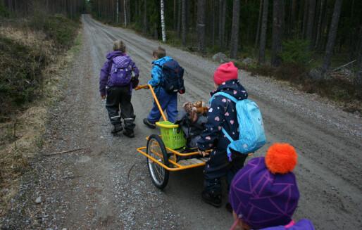 Ny forskning: Enkelte barnehager gir barna et stort forsprang inn i skolen