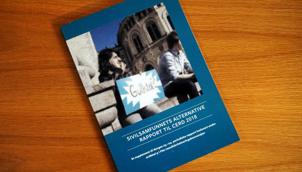 Til sammen 23 organisasjoner står bak Sivilsamfunnets alternative rapport til FNs rasediskrimineringskomité, deriblant Utdanningsforbundet. Foto: Marianne Ruud
