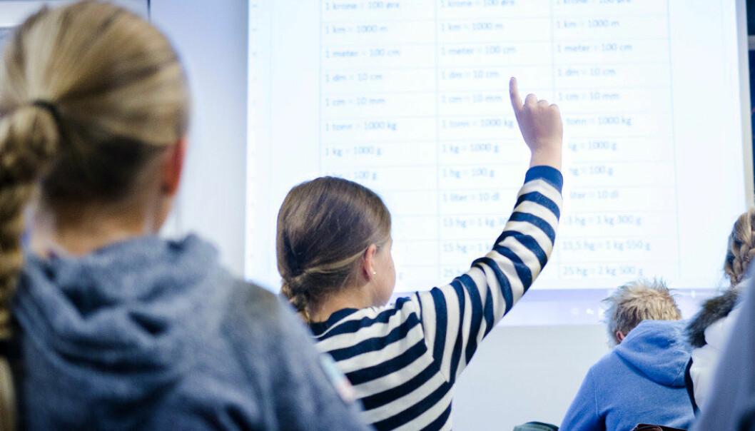 Elever som er født i januar, har opptil 15 prosent høyere gjennomsnittsscore på nasjonale prøver enn dem som er født i desember samme år. Ill.foto: Utdanning