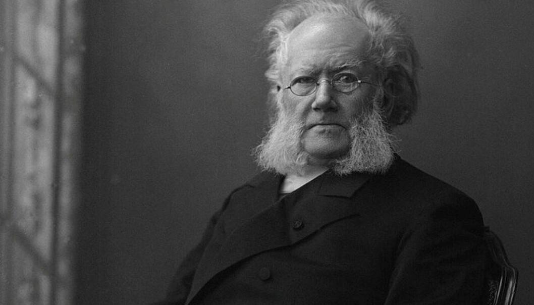 Bør dikteren Henrik Ibsen nevnes spesielt i læreplanene? Nei, mener Tormod Korpås, sentralstyremedlem i Utdanningsforbundet. Foto Gustav Borgen/Wikimedia Commons