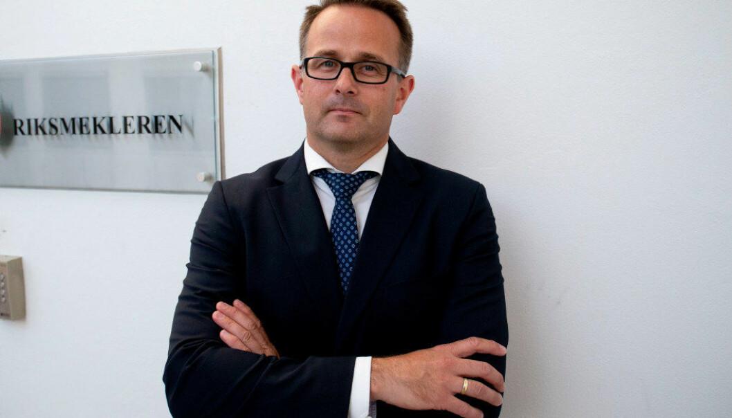 Mats Wilhelm Ruland blir ny riksmekler. Foto: Fredrik Hagen / NTB scanpix